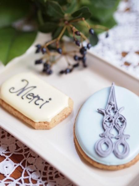 アトリエ開校1周年記念クッキー